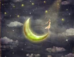La melatonina equipara la visión de la luna con el sueño.