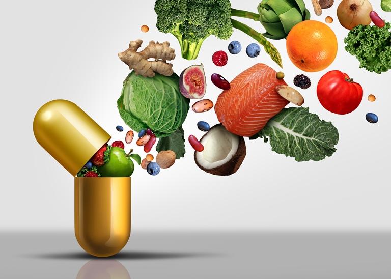 Demostrar que en una cápsula caben muchas vitaminas aturales.