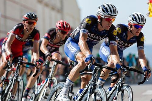 No podemos imaginar ciclistas sin suplementos deportivos.